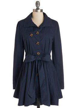 Just Called to Say Hyannis Coat in Navy