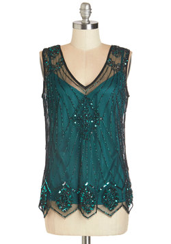 Sequin of Light Top