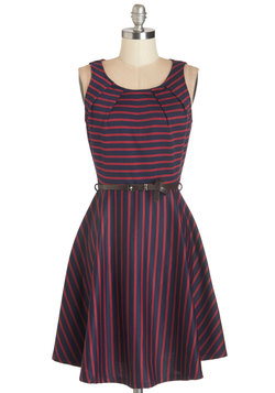 C'mon Fête Happy Dress in Navy