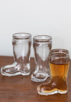 Let's Kick It Shot Glass Set