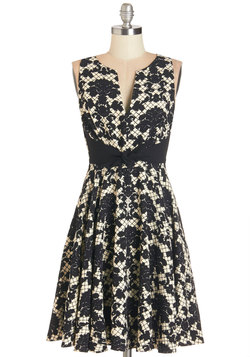 Darling in Damask Dress