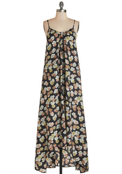 Wish Fulfillment Dress in Floral - Maxi
