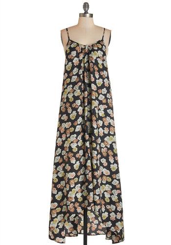 Wish Fulfillment Dress in Floral - Maxi