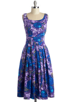 Fun and Video Games Dress in Floral