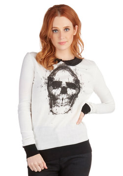 Skull You Could Ever Want Sweater