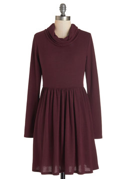 Prose Party Dress in Burgundy