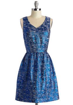 Keen on Sheen Dress