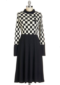 Checkmates and Balances Dress
