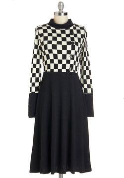 Checkmates and Balances Dress