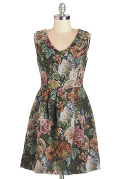 Timeless Tapestry Dress