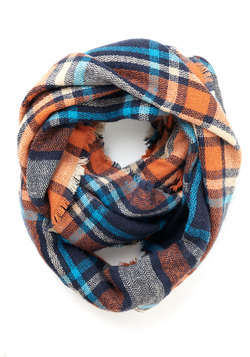 Campus Chill Scarf in Orange