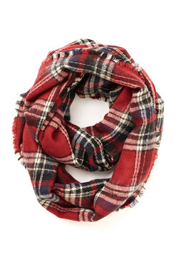 Campus Chill Scarf in Red