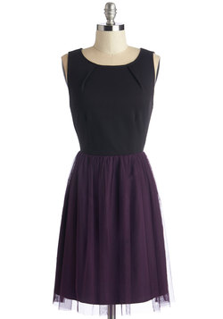 Dedicated Dreamer Dress in Plum