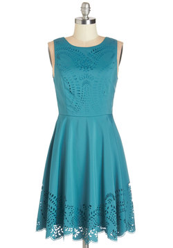 Invitation Designer Dress in Teal