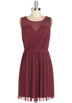 Any Swish Way Dress in Berry