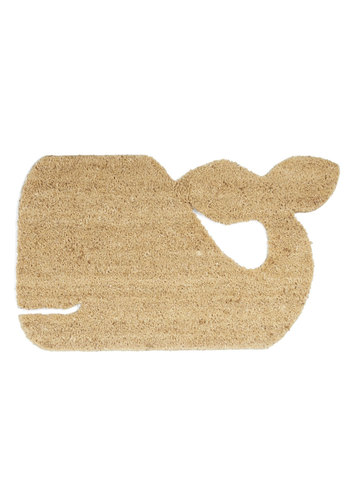 Whale-come Home Doormat