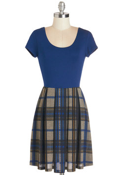 At Your Beck and California Dress in Plaid