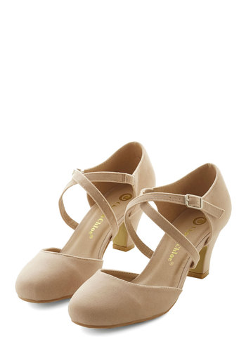Memorable Moves Heel in Beige $39.99 AT vintagedancer.com