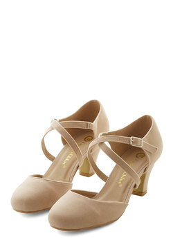 Memorable Moves Heel in Beige