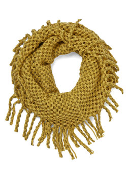 What Glows Around Scarf in Marigold
