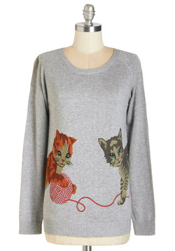 Cats But Not Least Sweater