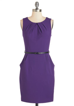 Myriad Moods Dress in Grape