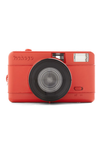 Fisheye One Lomography Camera by Lomography - Red, Travel, Graduation, Better, Festival, Guys, Top Rated, Boho