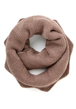 Snuggled Up in Sweetness Scarf in Taupe