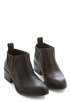 Promise to be Modest Bootie in Black