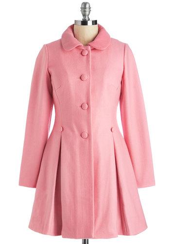 Raspberry Sherbet Coat