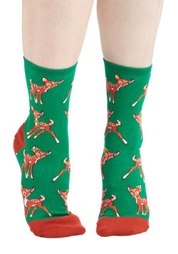 Frolicking Fawns Socks