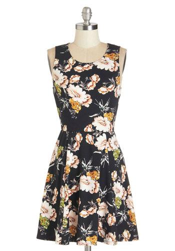 Fresh Flower Arrangement Dress