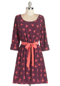 Southwestern Story Dress in Birds