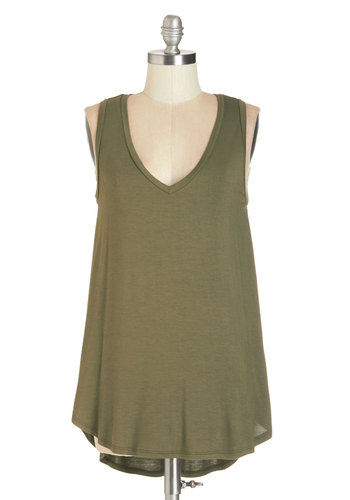 Endless Possibilities Tunic in Olive