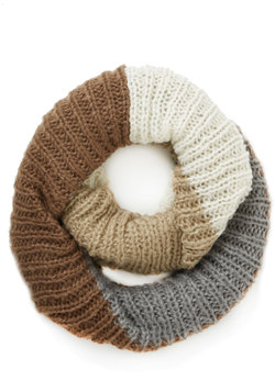 What's Up, Block? Circle Scarf in Winter