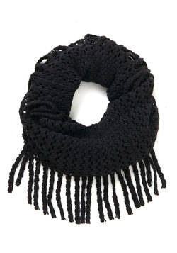 What Glows Around Scarf in Black