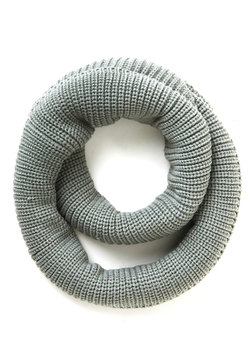 Open Air Outing Circle Scarf in Frost