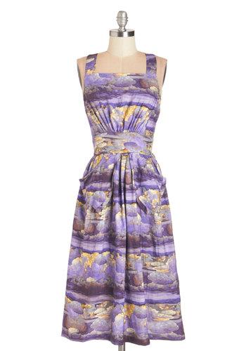 Hazy Beautiful Dress