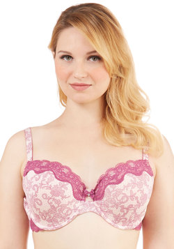 Swirls of Sweetness Bra in Plus Size