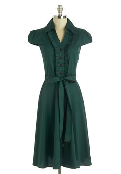 About the Artist Dress in Evergreen