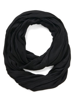 Brighten Up Circle Scarf in Onyx