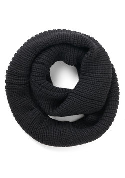 Open Air Outing Circle Scarf in Black