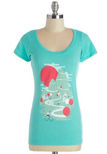 Roundabout Route Tee