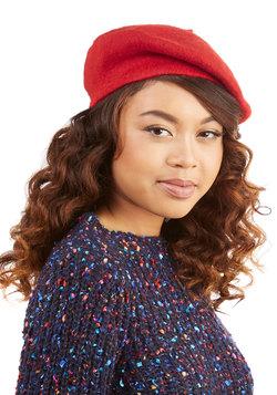 Dapper Details Hat in Red