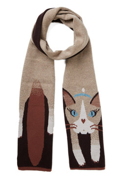 A Perfect Cat-ch Scarf
