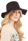 Topper the Morning Hat in Black