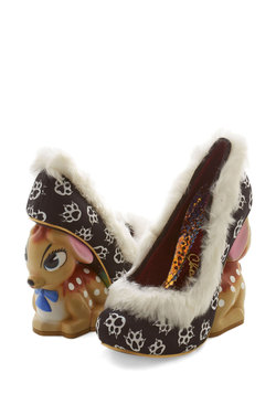 Cute Critter Fashion - Girls Just Wanna Have Fawn Heel