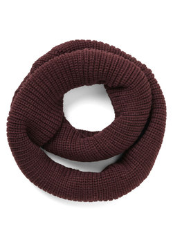 Open Air Outing Circle Scarf in Black Cherry