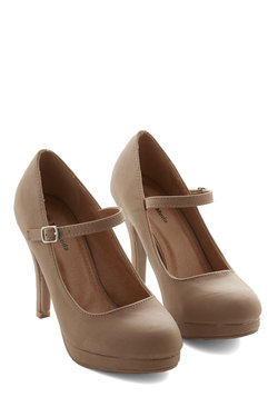 Timeless of My Life Heel in Khaki
