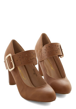 Help Yourself Heel in Brown